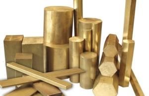 mecanizado materiales bronce titanio